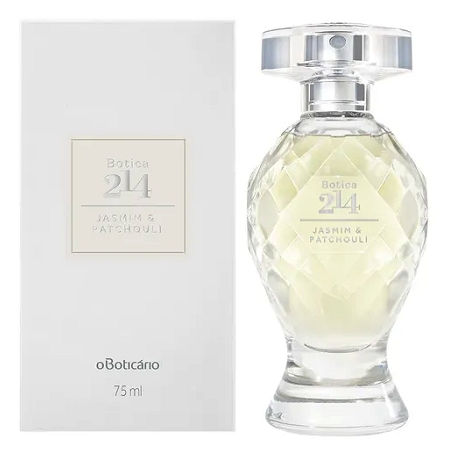 Botica 214 Jasmim & Patchouli perfume for Women by O Boticario