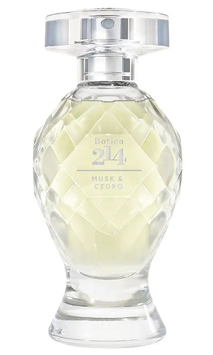 Botica 214 Musk & Cedro perfume for Women by O Boticario