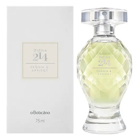 Botica 214 Peonia & Apricot perfume for Women by O Boticario