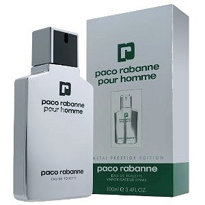Metal cologne for Men by Paco Rabanne