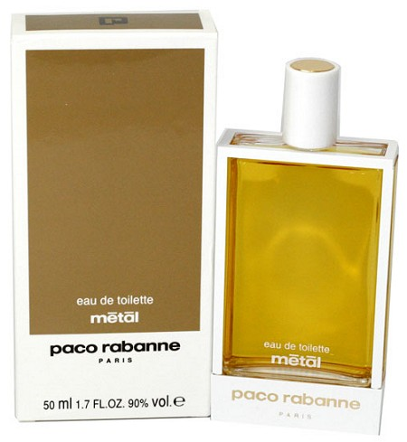Metal paco rabanne pictures for Paco rabanne women s fragrance