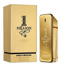 1 Million Absolutely Gold cologne for Men by Paco Rabanne