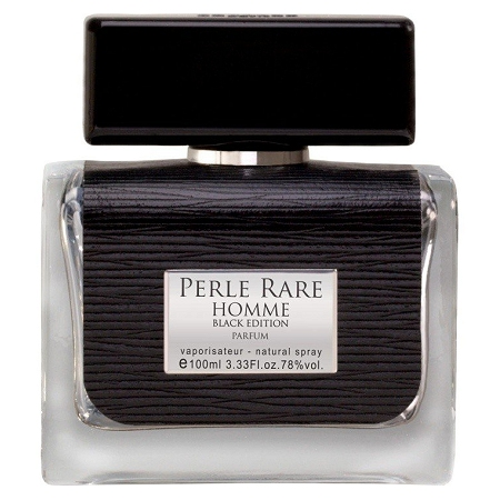 Perle Rare Black Edition cologne for Men by Panouge