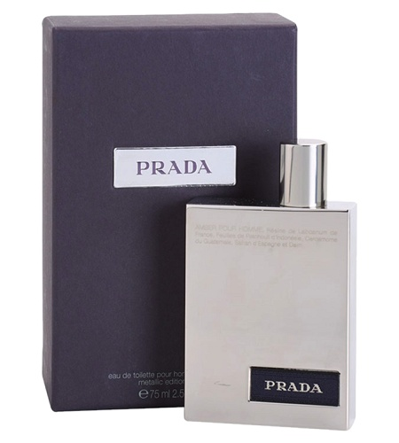 Prada Amber Pour Homme Metallic Edition cologne for Men by Prada
