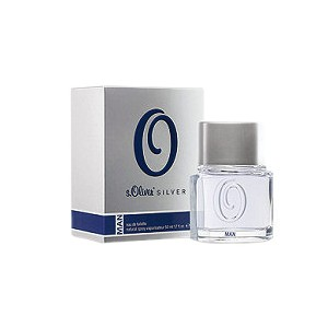 Silver cologne for Men by s.Oliver