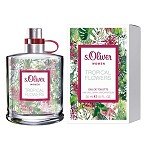 Tropical Flowers  perfume for Women by s.Oliver 2016