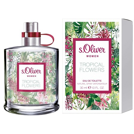 Tropical Flowers perfume for Women by s.Oliver