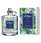 Tropical Trees  cologne for Men by s.Oliver 2016
