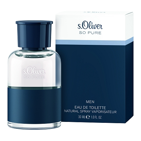 So Pure cologne for Men by s.Oliver