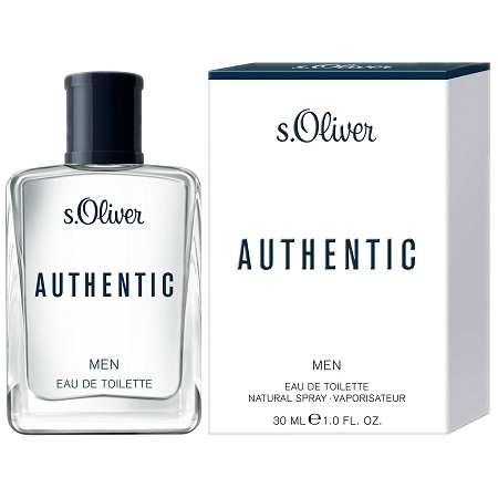 Authentic cologne for Men by s.Oliver
