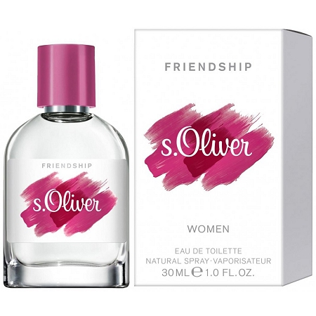 Friendship Magenta EDT perfume for Women by s.Oliver