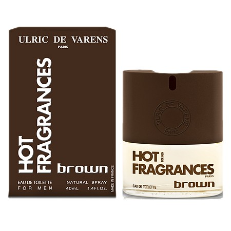 Hot! Fragrances Brown cologne for Men by Ulric de Varens