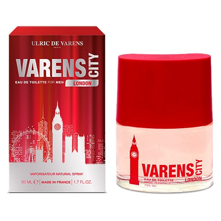 Varens City London cologne for Men by Ulric de Varens