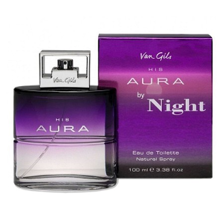His Aura by Night cologne for Men by Van Gils