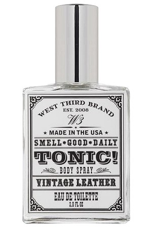 Smell Good Daily Vintage Leather cologne for Men by West Third Brand