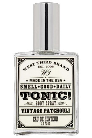 Smell Good Daily Vintage Patchouli Unisex fragrance by West Third Brand