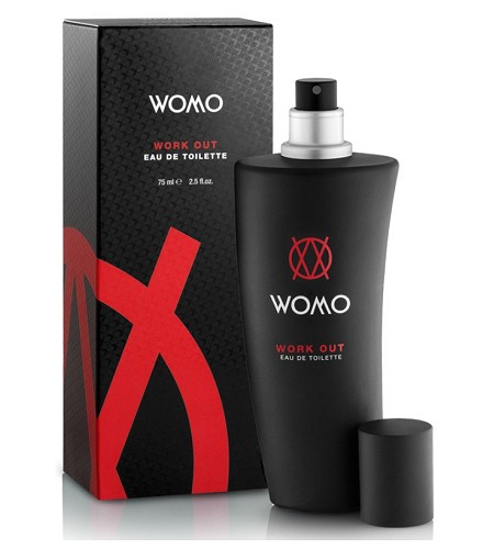 Work Out cologne for Men by Womo