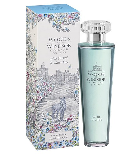 Blue Orchid & Water Lily perfume for Women by Woods of Windsor