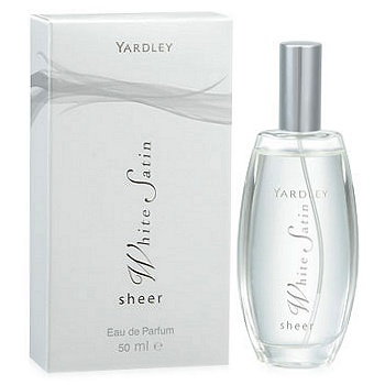 Sheer White Satin perfume for Women by Yardley