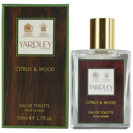 Citrus & Wood cologne for Men by Yardley