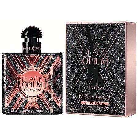 Black Opium Pure Illusion perfume for Women by Yves Saint Laurent