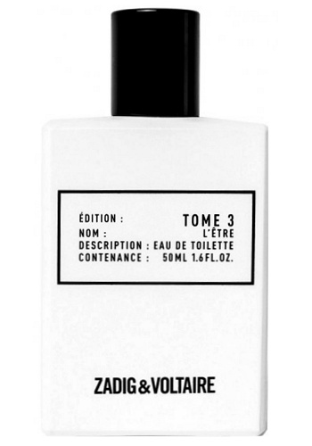 Tome 3 L'Etre Unisex fragrance by Zadig & Voltaire