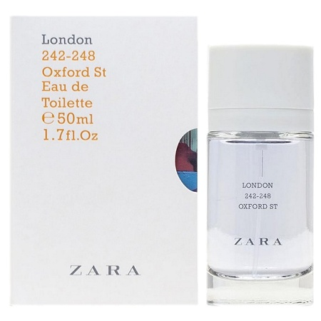 City Collection London 242-248 Oxford St Unisex fragrance by Zara