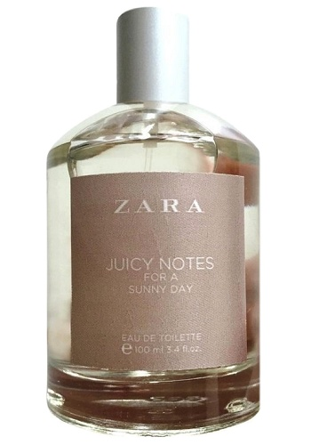 Juicy Notes for a Sunny Day perfume for Women by Zara
