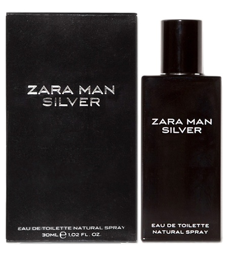 Zara Man Silver cologne for Men by Zara