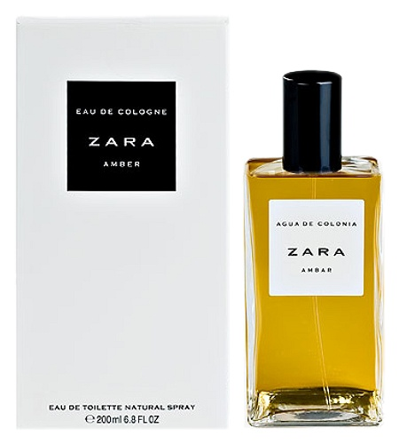 Amber cologne for Men by Zara