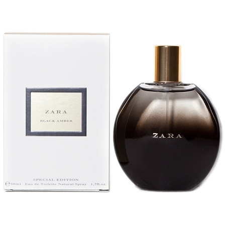 Black Amber Special Edition perfume for Women by Zara