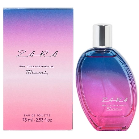 590 Collins Avenue Miami perfume for Women by Zara