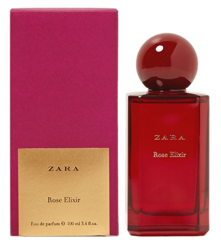 Exclusive Collection Rose Elixir Perfume For Women By Zara 2014