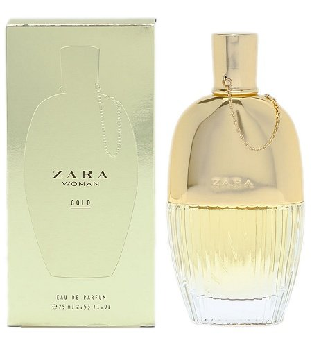 Gold EDP perfume for Women by Zara