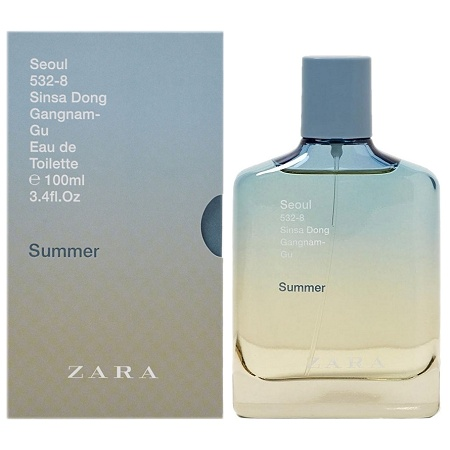 City Collection Seoul Summer cologne for Men by Zara