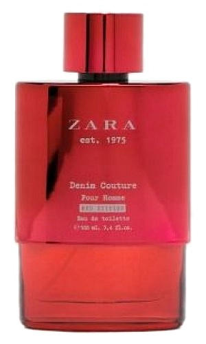 Denim Couture Red Edition cologne for Men by Zara