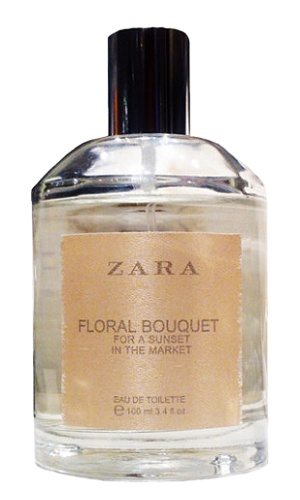 Floral Bouquet for a Sunset in the Market perfume for Women by Zara