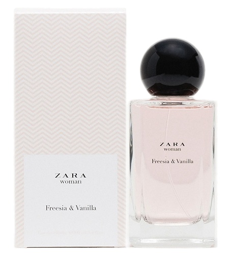 Freesia & Vanilla perfume for Women by Zara