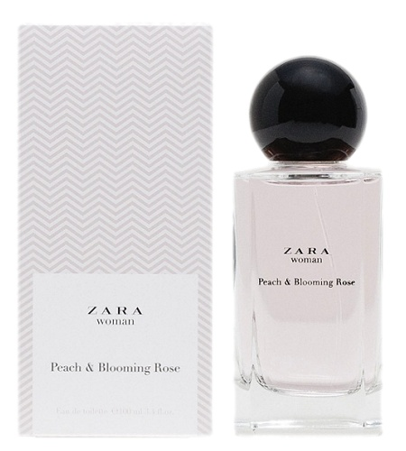 Peach & Blooming Rose perfume for Women by Zara