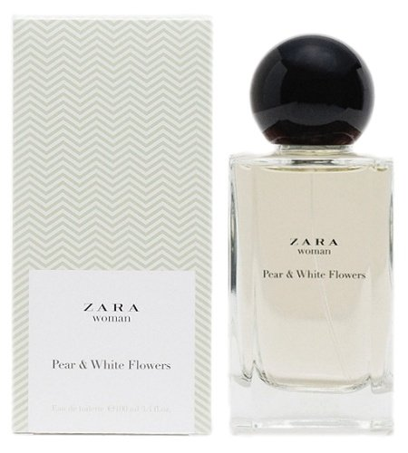 Pear & White Flowers perfume for Women by Zara