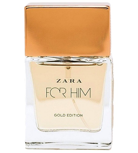 Zara For Him Gold Edition cologne for Men by Zara