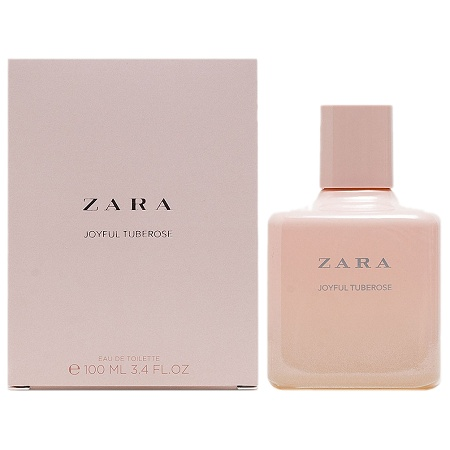 Pastel Collection Joyful Tuberose perfume for Women by Zara