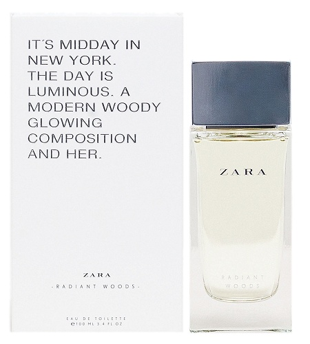 Radiant Woods perfume for Women by Zara
