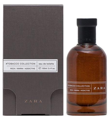 Tobacco Collection Rich Warm Addictive cologne for Men by Zara