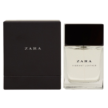 Vibrant Leather cologne for Men by Zara