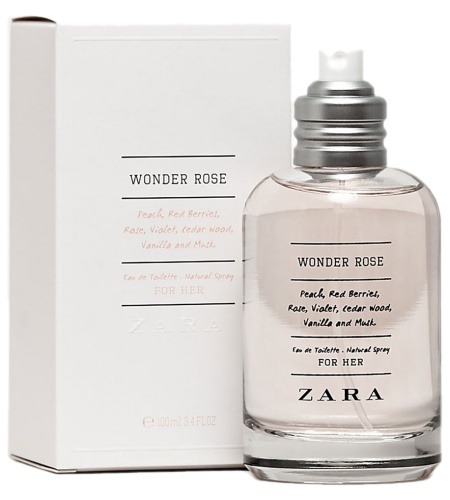 Wonder Rose perfume for Women by Zara