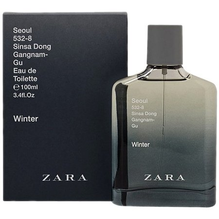 City Collection Seoul Winter cologne for Men by Zara