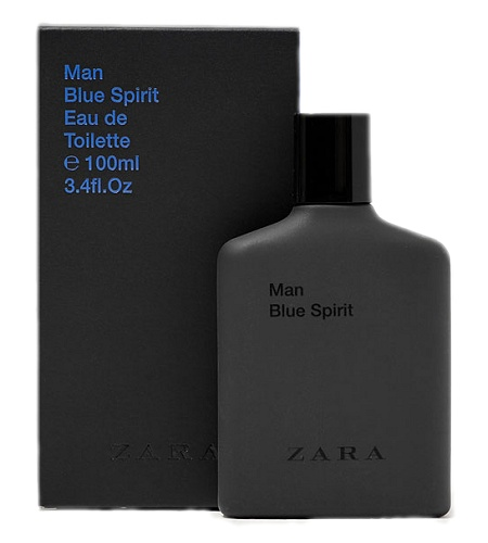 Man Blue Spirit cologne for Men by Zara