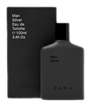 Man Silver cologne for Men by Zara