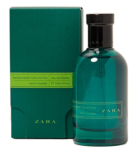 Midsummer Deep Fougere cologne for Men by Zara
